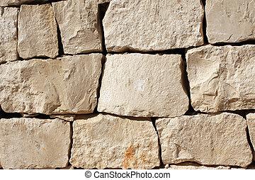 vägg, sten spärrar, medeltida