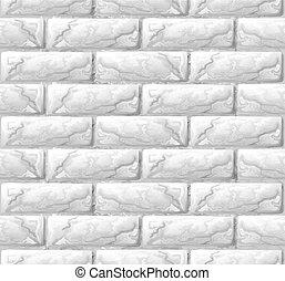 vägg, tegelsten, struktur, seamless, bakgrund