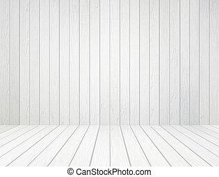 vägg, vit, ved, bakgrund, golv