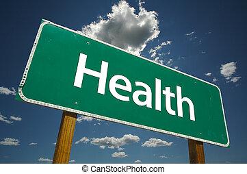 vägmärke, hälsa