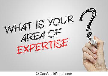 vad, område, skrift, expertis, hand, din