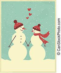 valentinkort, day/christmas, hälsning