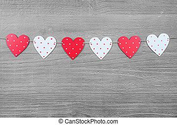 valentinkort, symboler, dag