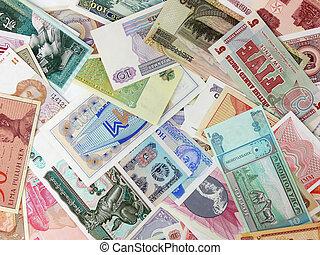 valuta, olika