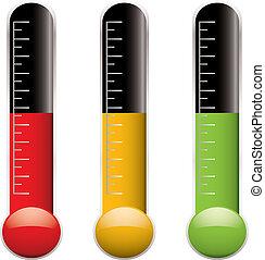 variation, termometer