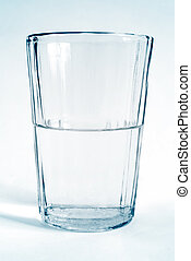 vatten glas, transparent, kopp