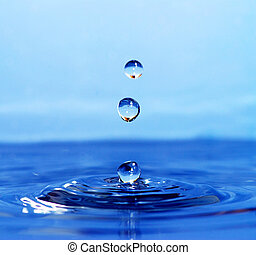 vatten gnutta