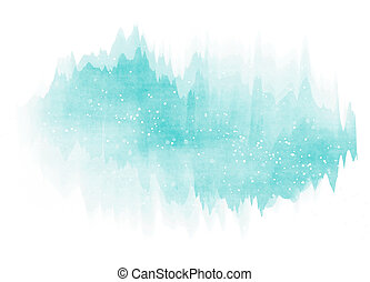 vattenfärg, bakgrund., abstrakt, färgrik
