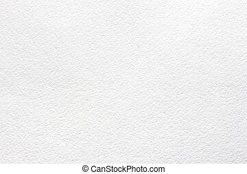 vattenfärg, vit, papper, struktur