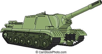 vektor, self-propelled, gevär