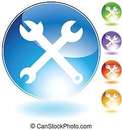 verktyg, ikon