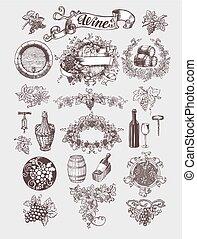 vin, set., årgång, winemaking