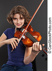 violin, öva