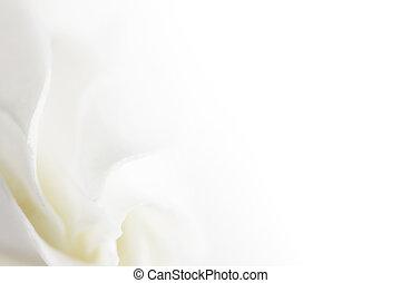 vita blomma, mjuk, bakgrund
