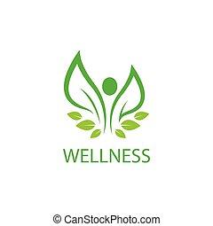 wellnes, mall, logo