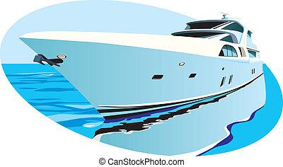 yacht, lyxvara