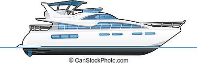 yacht, motor