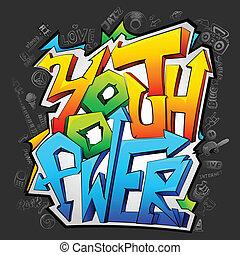 youth, graffiti, driva