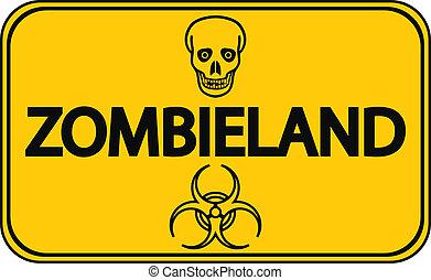 zombieland, vägmärke